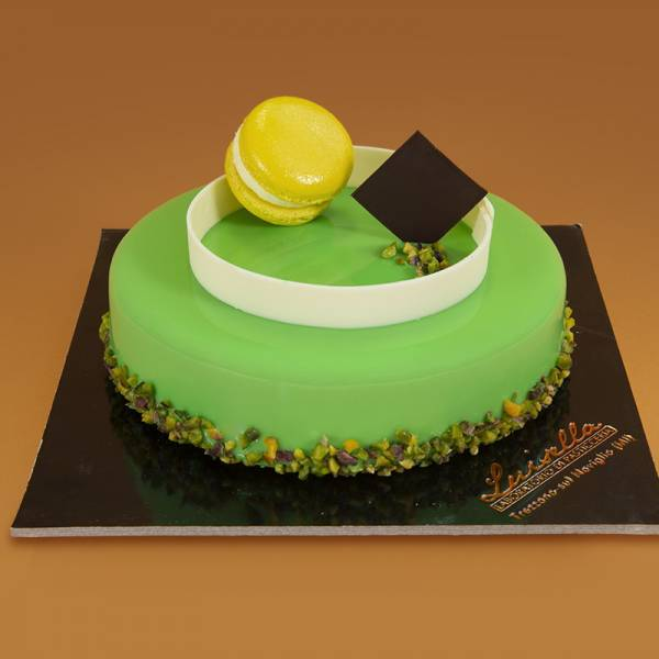 Torta Viridis - Bavarese