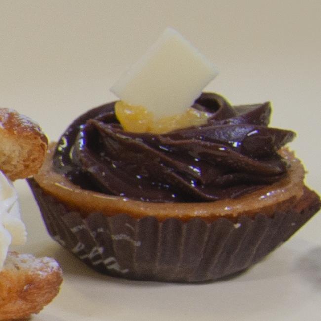 Tartellette cioccolato e zabaione