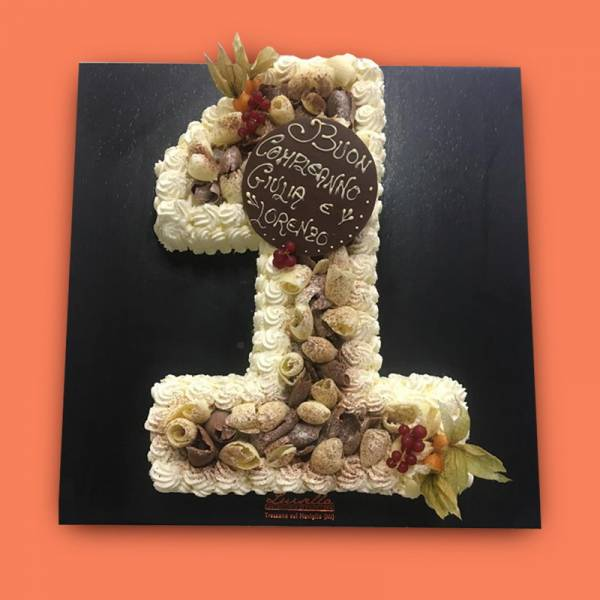 Torte di compleanno con number cake